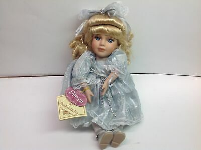 $ CDN6.23 • Buy Collector's Choice Wind Up Doreen Doll Bisque Porcelain With COA And Name Tag