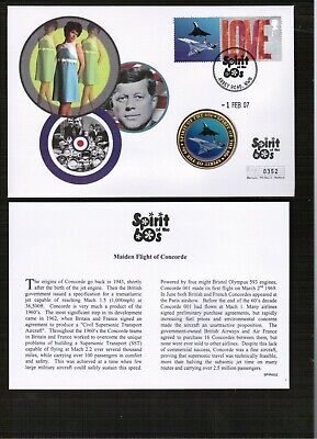 £0.99 • Buy GB Spirit Of The 60's Concorde Medallion Cover