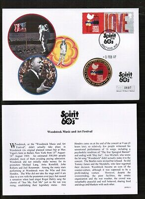 £0.99 • Buy GB Spirit Of The 60's Peace & Music Medallion Cover