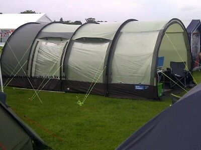 £35 • Buy KAMPA Carbis 5 Family Tent With Free Field Kitchen Unit