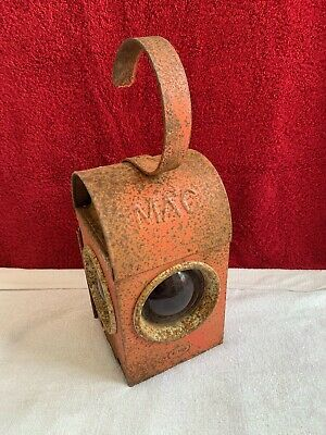£20 • Buy Vintage Road / Railway Warning / Signal Lamp For Restoration. M.a.c Stamped