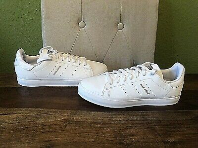 AU33.93 • Buy Adidas Originals White Leather Stan Smith Vulc Trainers - Size UK 6