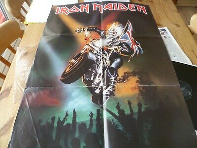 £6.99 • Buy Iron Maiden Infinate Dreams 12  Vinyl Limited Edition Poster Bag Autographed !