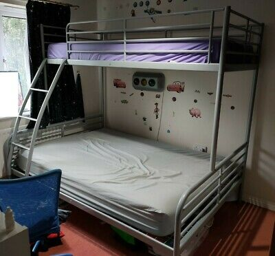 £9.50 • Buy Ikea Bunk Bed (triple) Metal Frame In Very Good Condition