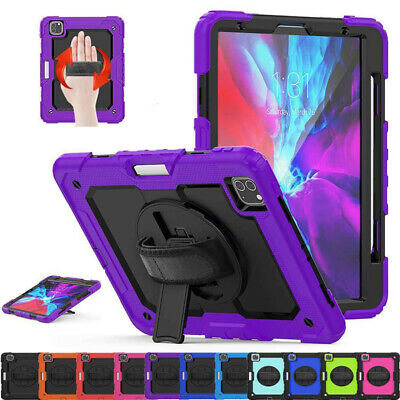 AU30.49 • Buy For IPad Pro 11  12.9  2021 2020 2018 Heavy Duty Rugged Rotate Stand Case Cover