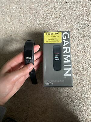 View Details Garmin Vivofit 4 Activity Tracker- NEEDS A NEW BATTERY Less Than A Year Old • 52.00£