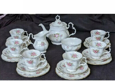 £255 • Buy Royal Albert Tranquility 22Pieces Perfect