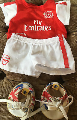 £8 • Buy Build A Bear Arsenal Kit With Union Jack  Shoes