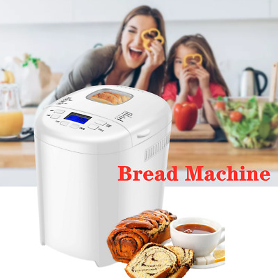 View Details AOLIER Digital Bread Maker Electric 14 Preset Functions 550W Motor LCD Display  • 69.89£