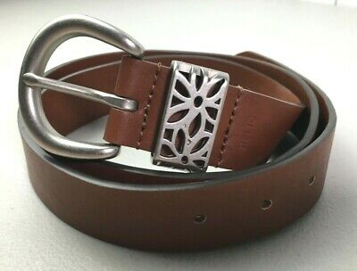 $5.99 • Buy Relic By Fossil Womens Brown Belt Sz M 100% Man Made Materials RLJ2701216