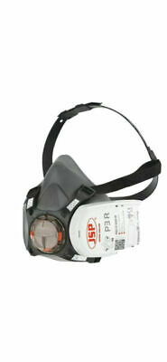 £14 • Buy JSP BHT0B3-0L5-N00 Force8 Half Mask With PressToCheck P3 Twin Filter