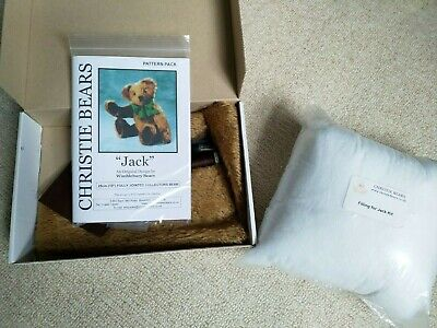 £4.99 • Buy Christie Bears  Jack  Fully Jointed Collectors Teddy Bear Kit!