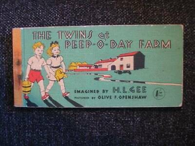 £12.40 • Buy  THE TWINS AT PEEP-O-DAY FARM - Gee, H.L. Illus. By Openshaw, Olive F
