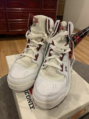 £46.73 • Buy Vintage AVIA 875 Spider Arc High Maroon White Basketball Shoes 9