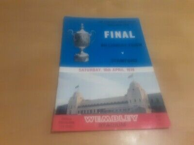 £3.99 • Buy Football Programme - F.A. Vase Final - Billericay Town V Stamford - 10th April,