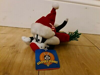 £12 • Buy Looney Tunes Sylvester Santa Hat Play By Play Plush Christmas W/Tag