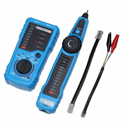 £22.69 • Buy RJ11 Telephone Cable Tester Wire Tracker Line Tracer Toner LAN Phone Network New