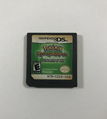 $98 • Buy Pokemon Mystery Dungeon: Explorers Of Sky (Nintendo DS) Authentic & Tested