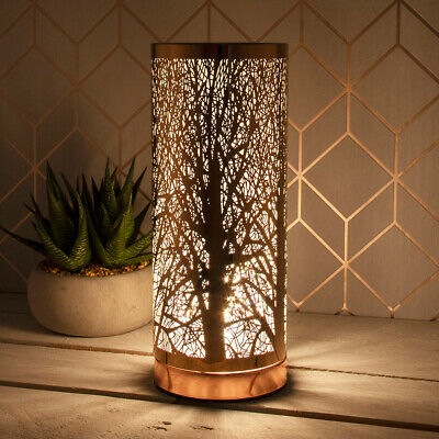 £17.95 • Buy Rosegold Tree Branches Aroma Electric Touch Light Lamp Wax Melt Scent Oil Burner