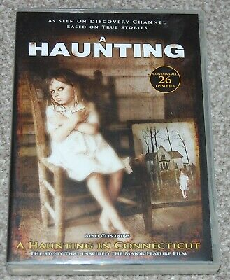 £17.99 • Buy A HAUNTING - 26 EPISODES On 8 DVDs + A HAUNTING IN CONNECTICUT - FREE DELIVERY