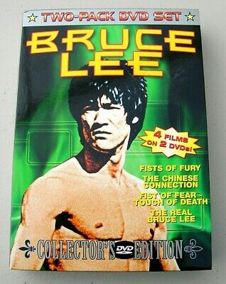 £14.52 • Buy Bruce Lee Collectors Edition Two Pack DVD Set 4 Films