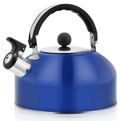 AU18.72 • Buy Home Whistling Kettle For Gas Stove 3L Stainless Steel Whistle Tea Kettle Water