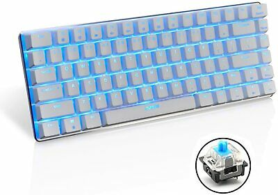 AU46.05 • Buy AK33 Backlit Usb Wired Gaming Mechanical Keyboard Blue Black Switches For PC MAC