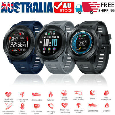 AU33.95 • Buy Smart Watch Mens Sport Fitness Tracker Heart Rate Sleep Monitor For Android IOS