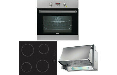 £514.99 • Buy Prima B/I Single Electric Fan Oven Pack ✔️FREE NEXT DAY DELIVERY✔️