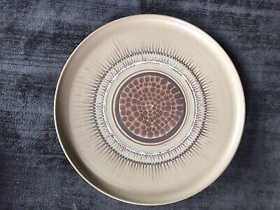 £110 • Buy Rare Vintage Very Large 13 3/4 Inch Charger By Guy Sydenham For Poole Pottery