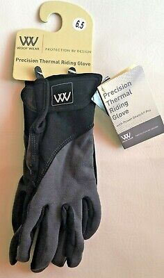 £17.82 • Buy WOOF WEAR  Riding Gloves Size 6.5 Thermal NWT Black Gray