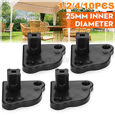 AU9.75 • Buy 1/2/4/10PCS PopUp Gazebo Replacement/ Foot / Base Plate - To Fit 25mm Inner Leg