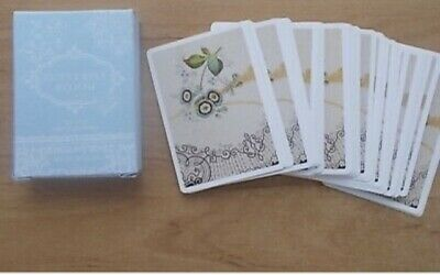 £8.99 • Buy Wedgwood Tea Story Butterfly Bloom Playing Cards