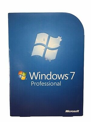 £64.74 • Buy Microsoft Windows 7 Professional 32 And 64 Bit DVDs W/ Product Key