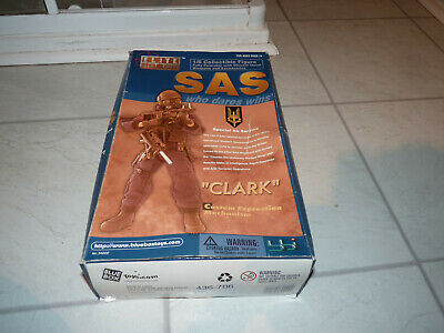 £35 • Buy Bluebox Toys Elite Force SAS Clark Figurine - 1:6 Scale, Boxed With Accessories