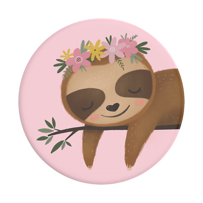 AU14.95 • Buy POPSOCKET -  POPSOCKETS - Sweet Sloth - SWAPPABLE Top- ORIGINAL POPGRIP