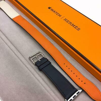 AU840.79 • Buy Hermes Apple Watch Leather Belt Replacement Band 38mm / 40mm Combined Used