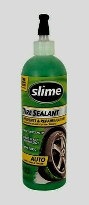 AU29.35 • Buy SLIME TIRE SEALANT 16 Oz Prevents & Repairs Flat Tires Seals Instantly 10011 NEW