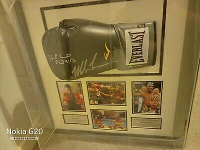 £350 • Buy Mike Tyson And Evander Holyfield Signed Glove
