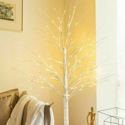 £9.99 • Buy 60cm Easter Birch Tree With Light Branch LED Christmas Twig Tree Lamp Decoration