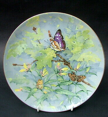 £9.95 • Buy Wedgwood Endangered Species Butterfly Wall Plate By Gordon Beningfield 23cm VGC