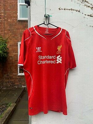 £15 • Buy Liverpool 2014 Home Shirt Warrior Large