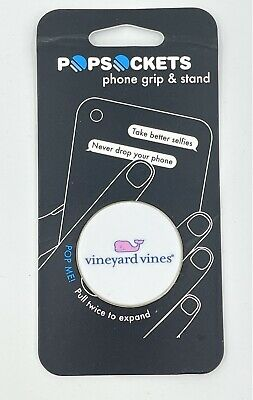 AU20 • Buy PopSockets Vineyard Vines Pink & White Whale Collapsible Grip & Stand For Phones
