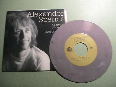 £1.71 • Buy ALEXANDER SPENCE (MOBY GRAPE) - All My Life - Psychedelic Folk -COLOURED 7  2000