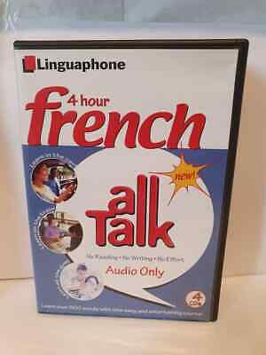 £9.99 • Buy Linguaphone All Talk French 4 X Cds Learn French