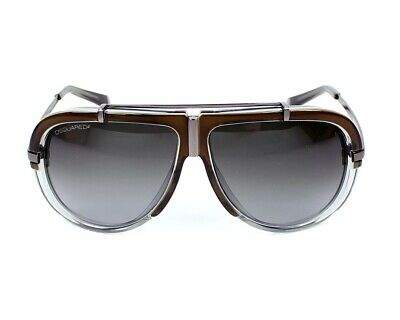 £49 • Buy Dsquared2 DQ 0055-98B Glasses, Colour Brown/grey