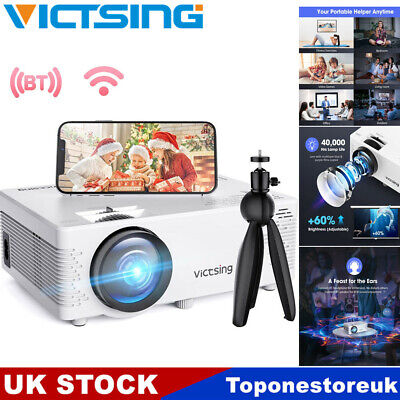 £58.29 • Buy VicTsing Mini Smart 720P Projector WiFi Home Theater Cinema For Android IPhone