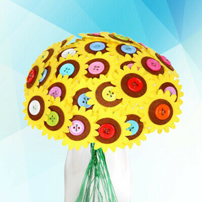 £6.01 • Buy 1 Set Of Button Bouquet DIY Material Package For Toddlers