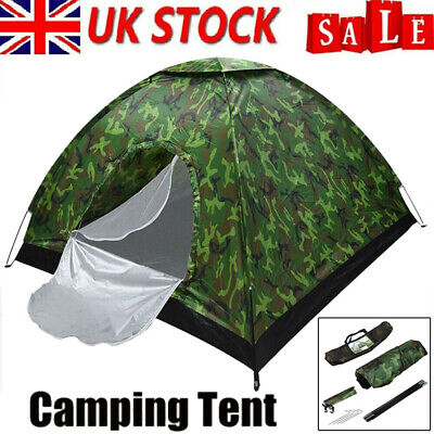 £20 • Buy Pop Up Tent 3-4 Man Person Family Waterproof Outdoor Camping Hiking Shelter New