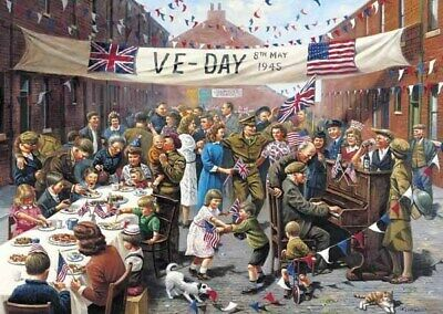 £9.99 • Buy Gibson VE Day - 500pc Jigsaw Puzzle